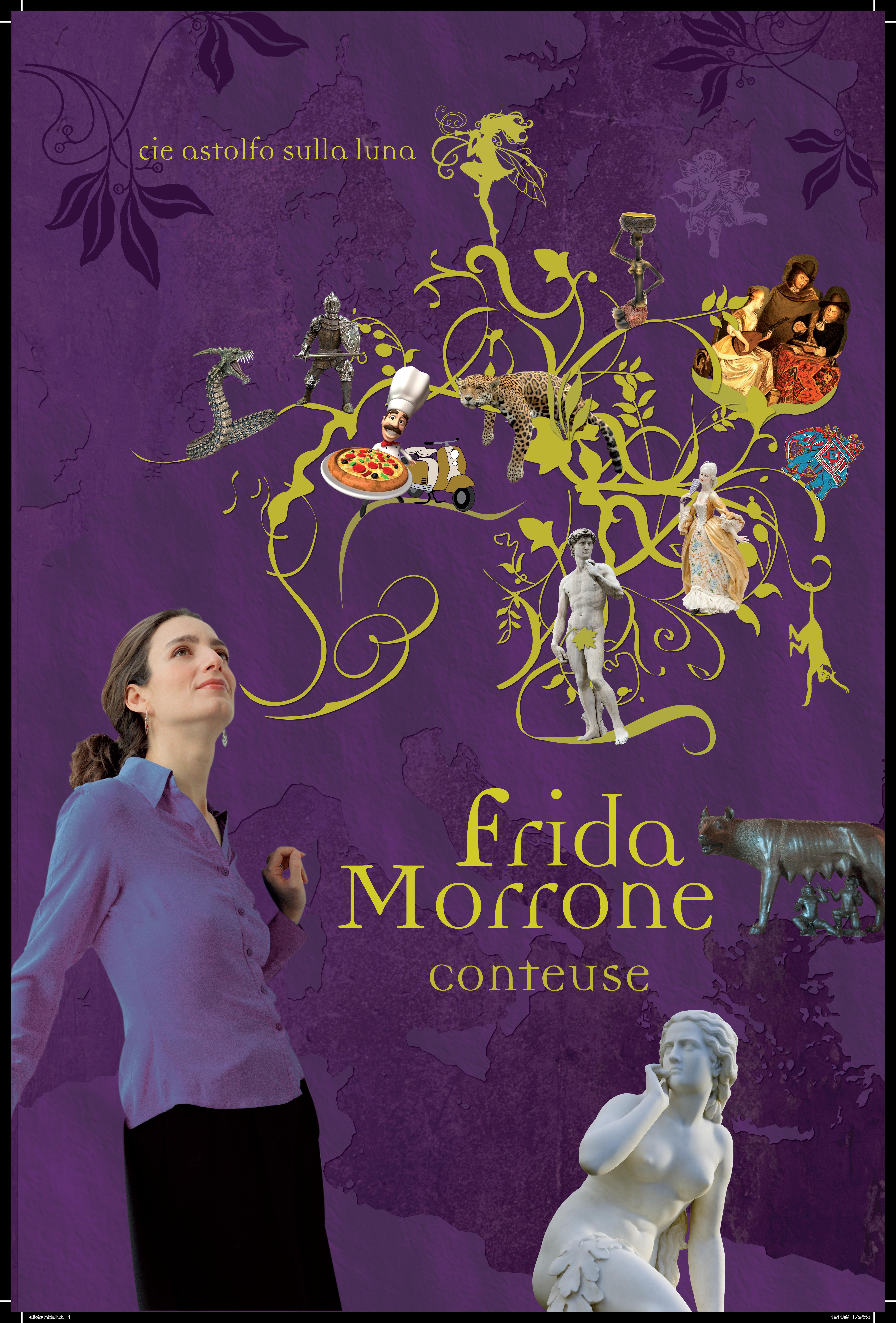 frida morrone Frida Morrone affiche officielle frida morrone